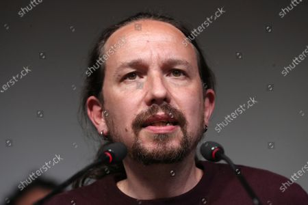 Editorial image of Pablo Iglesias resigns from politics, Madrid, Spain - 04 May 2021