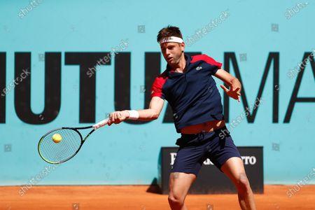 Stock Picture of Filip Krajinovic of Serbia in action