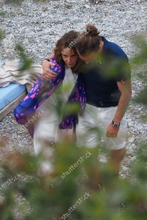 Editorial picture of 'Emily in Paris' on set filming, Saint-Jean-Cap-Ferrat, France - 04 May 2021