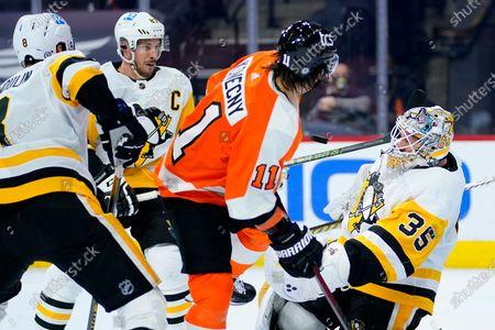 Editorial photo of Penguins Flyers Hockey, Philadelphia, United States - 04 May 2021