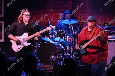 Editorial picture of The Josh Garrett Band in concert at The Funky Biscuit, Boca Raton, Florida, USA - 04 May 2021