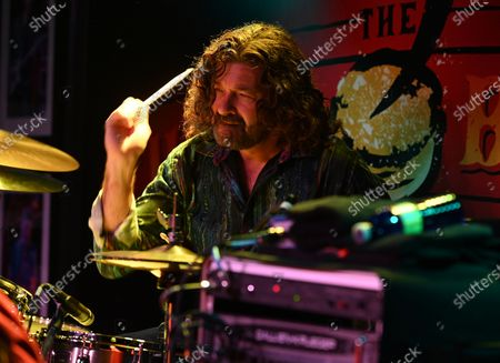 Editorial photo of The Josh Garrett Band in concert at The Funky Biscuit, Boca Raton, Florida, USA - 04 May 2021
