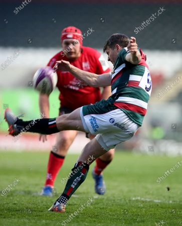 Editorial picture of Leicester Tigers v Ulster, Rugby Union, European Challenge Cup, Mattioli Woods Welford Road, Leicester, UK - 30 Apr 2021