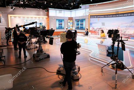 Editorial photo of 'Good Morning Britain' TV Show, London, UK - 05 May 2021