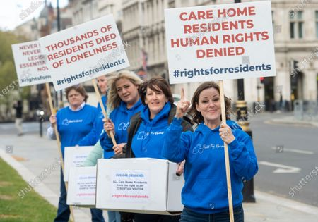 Editorial image of Rights for Residents campaign protest, London, UK - 04 May 2021