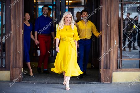 Denise Van Outen has teamed up with belVita to herald brighter days ahead of theatres reopening, with a brand new musical show, live on the streets of the West End.