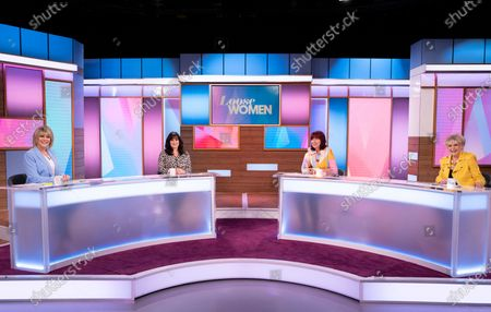 Stock Photo of Ruth Langsford, Coleen Nolan, Janet Street-Porter and Gloria Hunniford