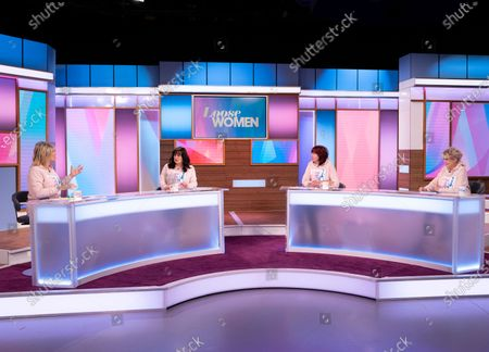 Stock Image of Ruth Langsford, Coleen Nolan, Janet Street-Porter and Gloria Hunniford