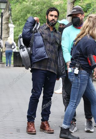 Editorial image of 'Suspicion' on set filming, New York, USA - 04 May 2021
