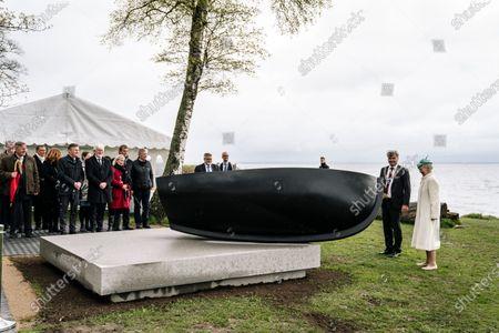 Editorial photo of Queen inaugurates sculpture October 1943, Copenhagen, Denmark - 05 May 2021