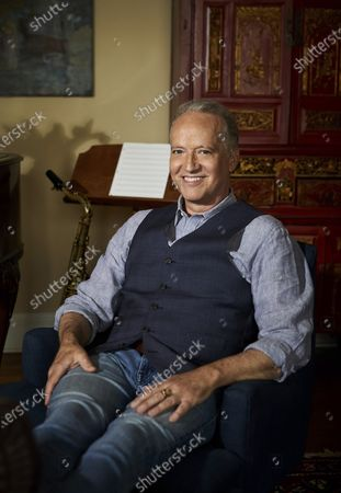 """Grammy-winning jazz saxophonist-composer Ted Nash poses for a portrait in New York on . Nash is releasing an album with actress Glenn Close on Friday. """"Transformation: Personal Stories of Change, Acceptance, and Evolution,"""" is an 11-track spoken word jazz album that tackles heavy topics like race, politics and identity"""