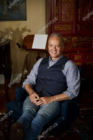 """Stock Picture of Grammy-winning jazz saxophonist-composer Ted Nash poses for a portrait in New York on . Nash is releasing an album with actress Glenn Close on Friday. """"Transformation: Personal Stories of Change, Acceptance, and Evolution,"""" is an 11-track spoken word jazz album that tackles heavy topics like race, politics and identity"""