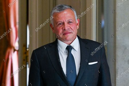 Stock Image of His Majesty King Abdullah II ibn Al Hussein of Jordan.