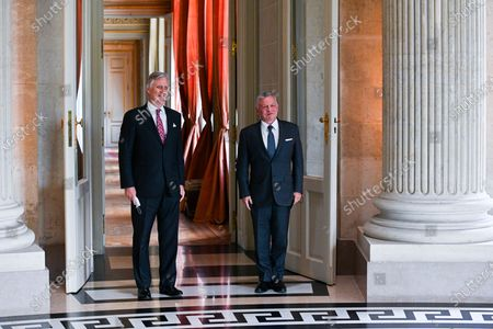 Editorial picture of King Philippe meets King Abdullah Ii Ibn Al Hussein, Brussels, Belgium - 05 May 2021