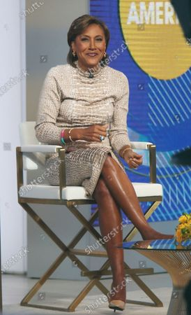 Robin Roberts on Good Morning America in New York May 04, 2021 Credit:RW/MediaPunch