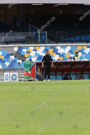 Editorial image of Serie A - SSC Napoli vs Cagliari Calcio, Naples, Italy - 02 May 2021