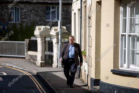 Editorial image of Liberal Democrats Campaigning, Brecon, Wales - 05 May 2021