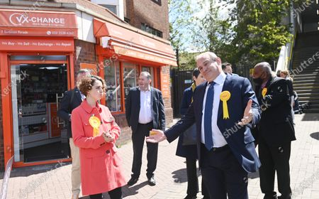 Editorial photo of Liberal Democrats mayoral election campaign in London, United Kingdom - 05 May 2021