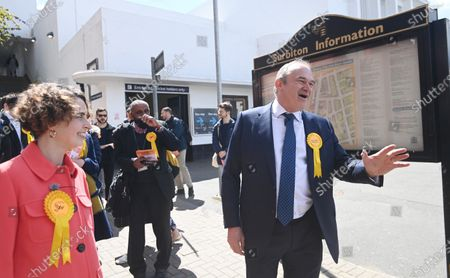 Editorial image of Liberal Democrats mayoral election campaign in London, United Kingdom - 05 May 2021