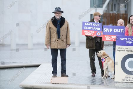 Editorial image of Preparation ahead of Scottish Parliament election, Edinburgh, United Kingdom - 05 May 2021
