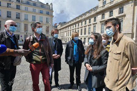 Editorial image of RSA Youth Bill, Paris, France - 05 May 2021