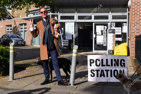 Editorial image of Super Thursday elections, London, UK - 06 May 2021