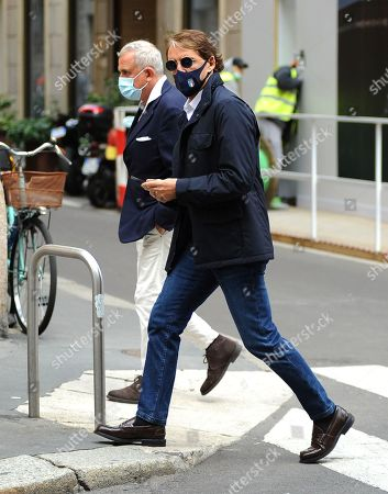 Editorial image of Roberto Mancini out and abouty, Milan, Italy - 05 May 2021