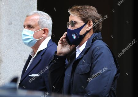 Editorial photo of Roberto Mancini out and abouty, Milan, Italy - 05 May 2021