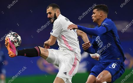 Editorial picture of Chelsea FC vs Real Madrid, London, United Kingdom - 05 May 2021
