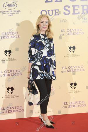 Editorial photo of 'El Olvido que seremos' film premiere, Arrivals,  Paz Cinema, Madrid, Spain - 05 May 2021