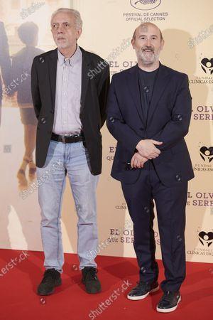 Fernando Trueba and Javier Camara