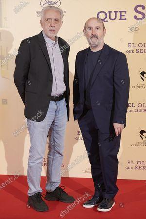 Stock Image of Fernando Trueba and Javier Camara