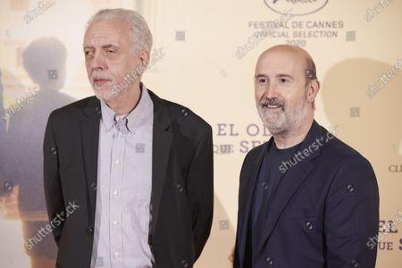 Stock Photo of Fernando Trueba and Javier Camara