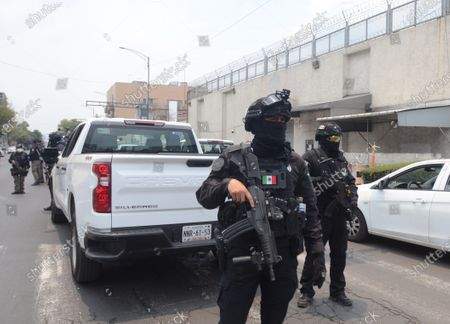 Editorial picture of Mexican prosecutor's office achieves rooting against capo Hector 'el Guero' Palma, Mexico City - 05 May 2021