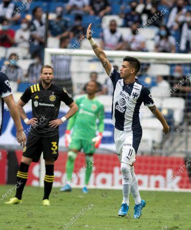Editorial photo of Monterrey vs Columbus, Mexico - 05 May 2021