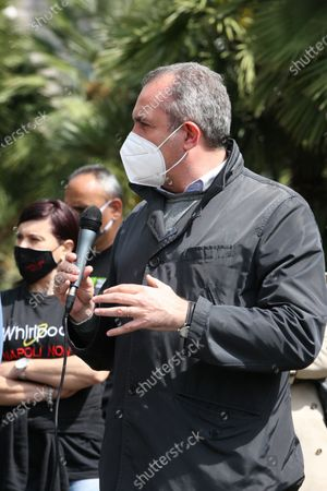 Editorial picture of Whirlpool workers initiative in Naples, Campania, Italy - 05 May 2021