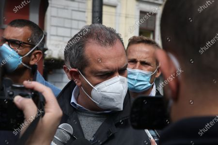 Editorial image of Whirlpool workers initiative in Naples, Campania, Italy - 05 May 2021