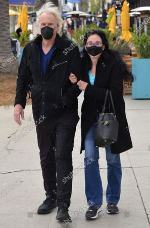Stock Picture of Exclusive - John Tesh and Connie Sellecca