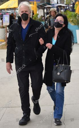 Editorial picture of Exclusive - John Tesh and Connie Sellecca out and about, Santa Monica, Los Angeles, California, USA - 05 May 2021