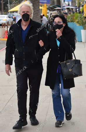 Editorial image of Exclusive - John Tesh and Connie Sellecca out and about, Santa Monica, Los Angeles, California, USA - 05 May 2021