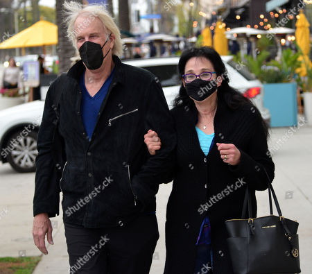 Stock Photo of Exclusive - John Tesh and Connie Sellecca