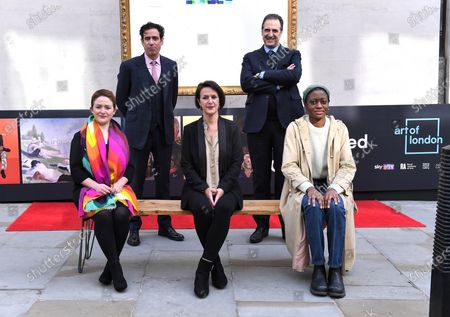 Editorial picture of Augmented Gallery photocall, London, UK - 06 May 2021
