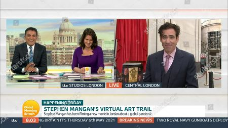 Editorial image of 'Good Morning Britain' TV Show, London, UK - 06 May 2021
