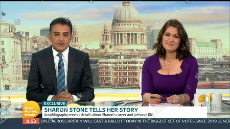 Stock Picture of Adil Ray, Susanna Reid