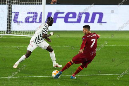 Editorial image of Roma v Manchester United, UEFA Europa League Semi-final 2nd Leg, Stadio Olimpico, Rome, Italy - 06 May 2021