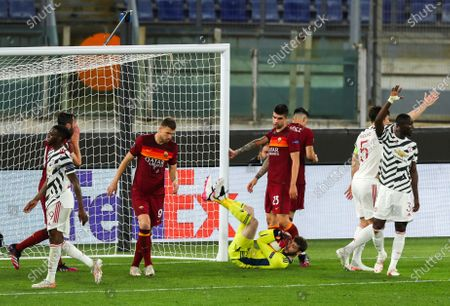 Editorial photo of Roma v Manchester United, UEFA Europa League Semi-final 2nd Leg, Stadio Olimpico, Rome, Italy - 06 May 2021
