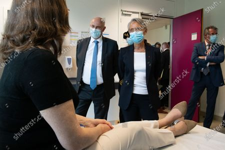 Editorial picture of The Minister of Labor, Employment and Integration, visiting the Safran Group Headquarters Medical Center for the Covid Vaccination Campaign 19, France - 05 May 2021