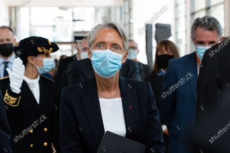 Editorial photo of The Minister of Labor, Employment and Integration, visiting the Safran Group Headquarters Medical Center for the Covid Vaccination Campaign 19, France - 05 May 2021