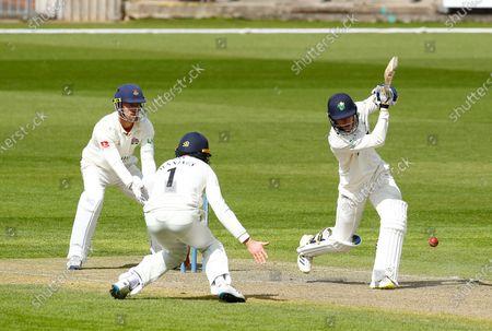 Editorial image of Lancashire v Glamorgan, LV= County Championship, Cricket, Emirates Old Trafford, Manchester, UK - 07 May 2021
