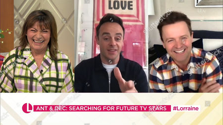 Lorraine Kelly, Anthony McPartlin, Declan Donnelly
